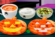 Saras Halloween Tortillas