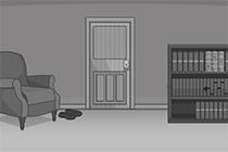 Black & White Escape: Bedroom