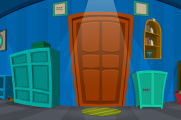 Cobalt Blue House Escape