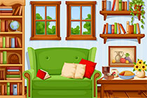 Fun Cartoon House Escape
