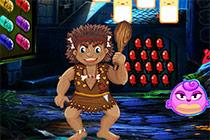 Funny Caveman Escape