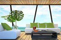 Tropical Island House Escape