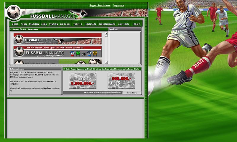 Fußball Manager Online Spielen