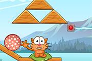 Cat Around the World - Alpine Lake
