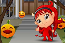Finde die Fehler - Halloween