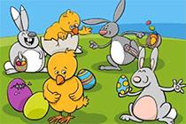 Finde die Unterschiede - Ostern