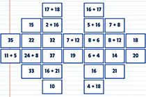 Mathe Mahjong Addition