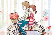 Puzzle: Valentinstag