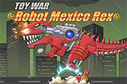 Toy War Robot Mexico Rex