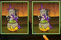 Unterschiede Finden Halloween