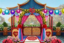 Wimmelbild Hochzeit