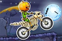 Moto X3M - Spooky Land