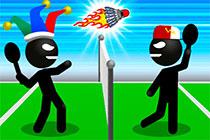 Stickman Sport Badminton
